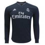 1819 Real Madrid Away Long Sleeve Soccer Jersey