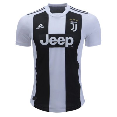 1819 Juventus Authentic Home Jersey (Player Version)