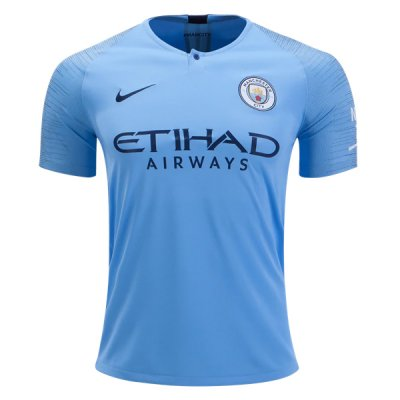 1819 Manchester City Home Soccer Jersey Shirt