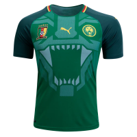 Cameroon Home Soccer Jersey 2018
