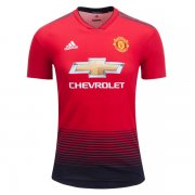 1819 Manchester United Authentic Home Jersey (Player Version)