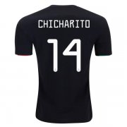 2019 Mexico Home Jersey Print CHICHARITO #14