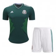 Mexico Home Kit Socce Jersey 2018