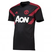1819 Manchester United Black Pre Match Shirt