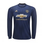 1819 Manchester United Long Sleeve Third Soccer Jersey