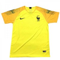 2018 France GoalKeeper Yellow Jersey
