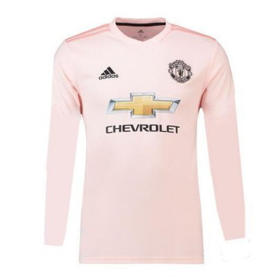 1819 Manchester United Long Sleeve Away Soccer Jersey