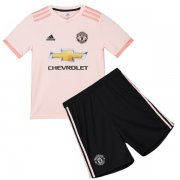 1819 Manchester United Away Kids Jersey