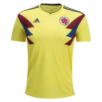 2018 Colombia Home Soccer Jersey Shirt