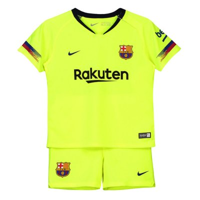 18-19 Barcelona Away Children Kit