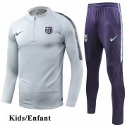Kids Barcelona Light Gray Tracksuit 1819