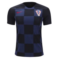 2018 Croatia Away Soccer Jersey