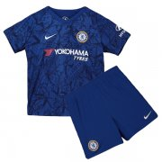 19/20 Chelsea Home Soccer Jersey Kids Kit