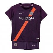 1819 Manchester City Third Soccer Jersey Children Kit