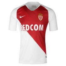 1819 AS Monaco Home Soccer Jersey Shirt