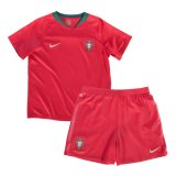 2018 World Cup Portugal Home Kids Kit