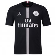 1819 PSG Jodan Third Home Black Jersey