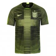1819 England Pre Match Shirt Training Jersey Green