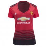 18-19 Manchester United Home Women Soccer Jersey
