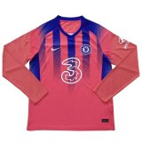 20-21 Chelsea Third Long Sleeve Soccer Jersey