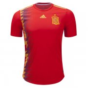 2018 World Cup Spain Home Authentic Jersey (Player Version)