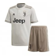 1819 Juventus Away Jersey Kid Kit