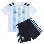 Argentina Home Kids jersey Kit