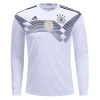 Germany Home Long Sleeve Soccer Jersey 2018