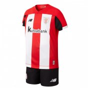 19/20 Athletic Bilbao Home Soccer Jersey Kids Kit