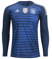 Germany Long Sleeve Home Goalkeeper Jersey 2018