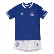 1819 Everton Home Soccer Jersey Children Kit