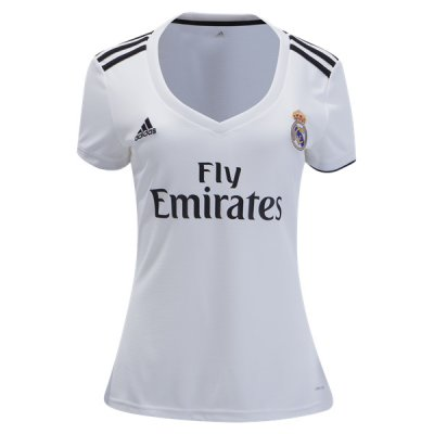 1819 Real Madrid Home Women Soccer Jersey
