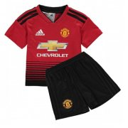 1819 Manchester United Home Kids Jersey
