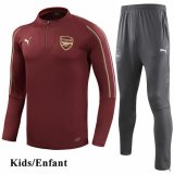 Kids Arsenal Red Tracksuit 1819