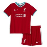 20-21 Liverpool Home Soccer Jersey Kids Kit