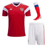 Russia World Cup Home Soccer Jersey Full Kit 2018