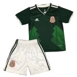 Mexico Home Kids Kit jersey 2018
