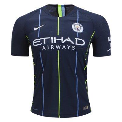 1819 Manchester City Away Authentic Jersey (Player Version)