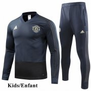 Kids Manchester United Navy Tracksuit 1819