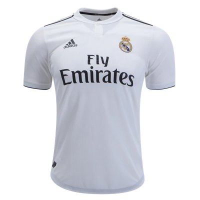 1819 Real Madrid Home Authentic Jersey (Player Version)