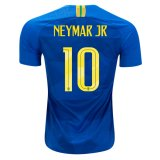2018 World Cup Brazil Away Jersey Flock NEYMAR JR 10#