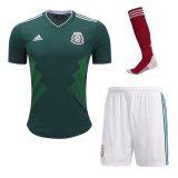 Mexico Home Full Kit Socce Jersey 2018