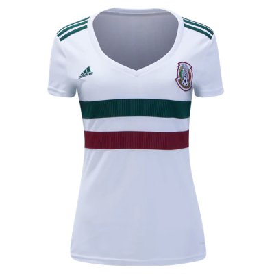 Mexico Away Women Soocer Jersey 2018