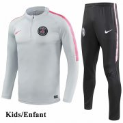 Kids PSG Light Gray Tracksuit 1819