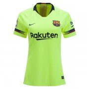 1819 Barcelona Away Women Soccer Jersey