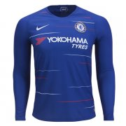 1819 Chelsea Home Long Sleeve Soccer Jersey Shirt
