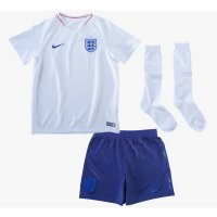 2018 England Home Kid Full Kit World Cup jersey