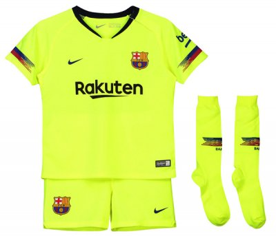 1819 Barcelona Away Childred Full Kit