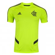 19-20 Flamengo Pre-Match Fluorescent Green Training Jersey