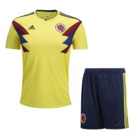 2018 Colombia Home Soccer Jersey Men Kit